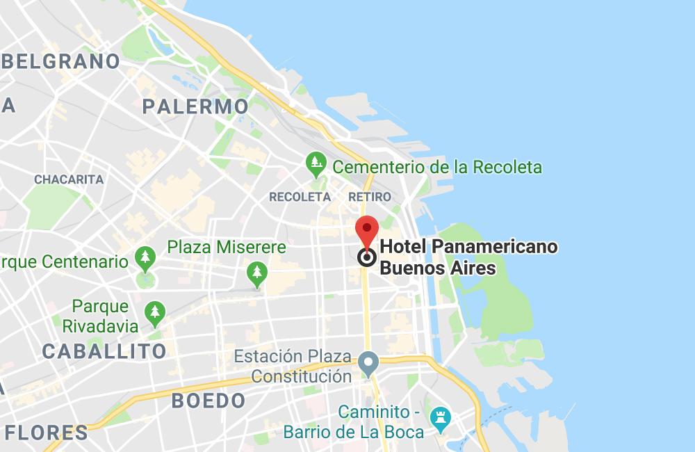 Hotel Panamericano Buenos Aires, Carlos Pellegrini 551, Ciudad Autónoma de Buenos Aires, Argentina