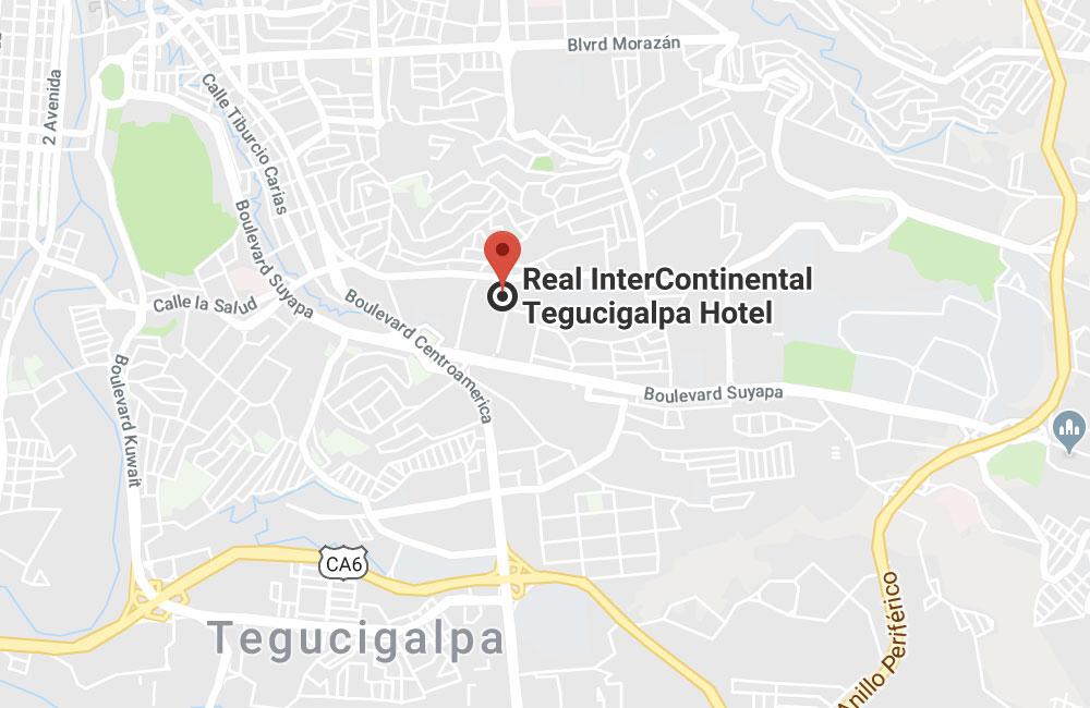 Hotel Real Intercontinental Tegucigalpa, Honduras