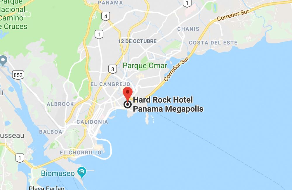 Hard Rock Hotel Panama Megapolis, Boulevard El Hayek, Ciudad de Panama, Panama