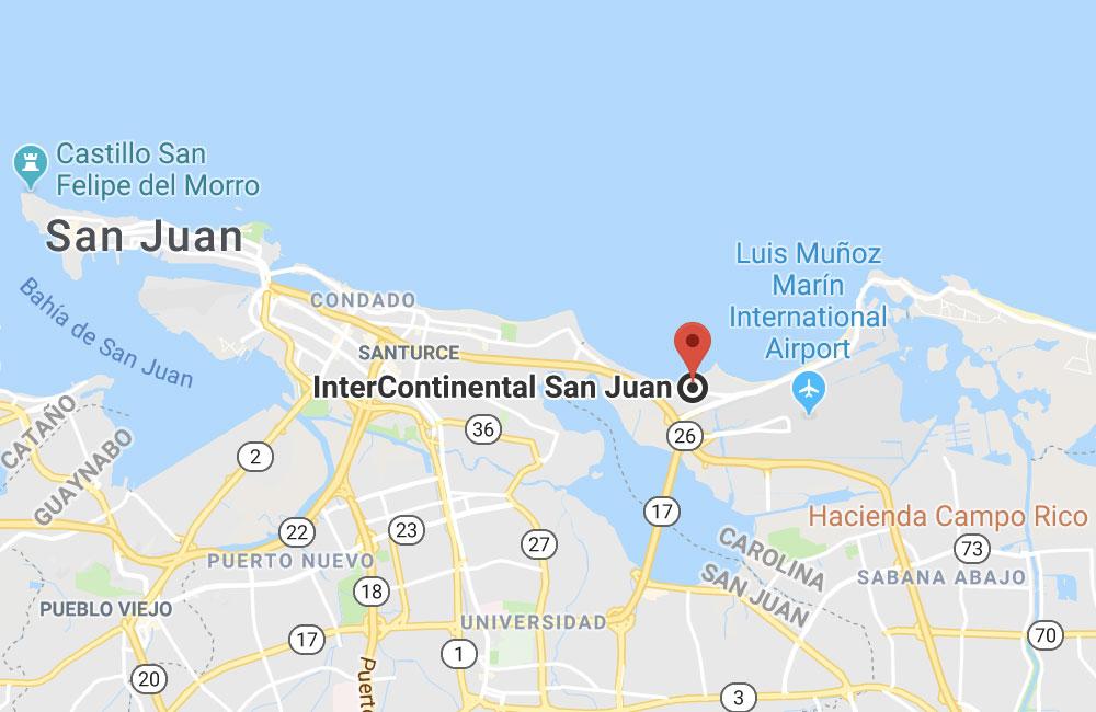 InterContinental San Juan, Puerto Rico