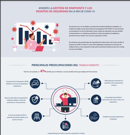 infografia retos gestion endpoints seguridad