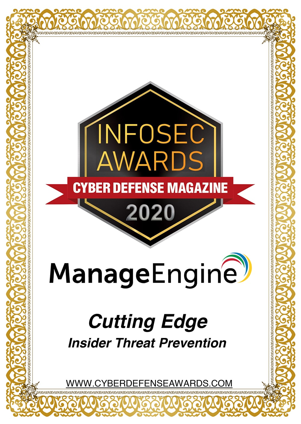 Infosec Awards 2020