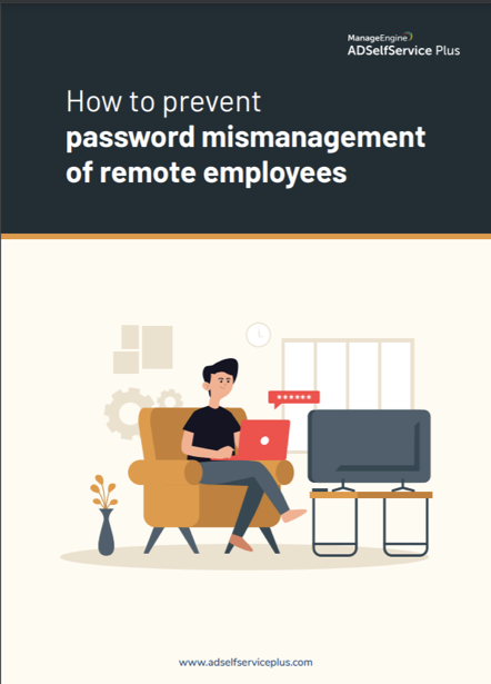 ebook on tips to manage passwords