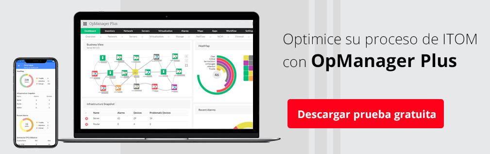 ITOM software - ManageEngine OpManager Plus