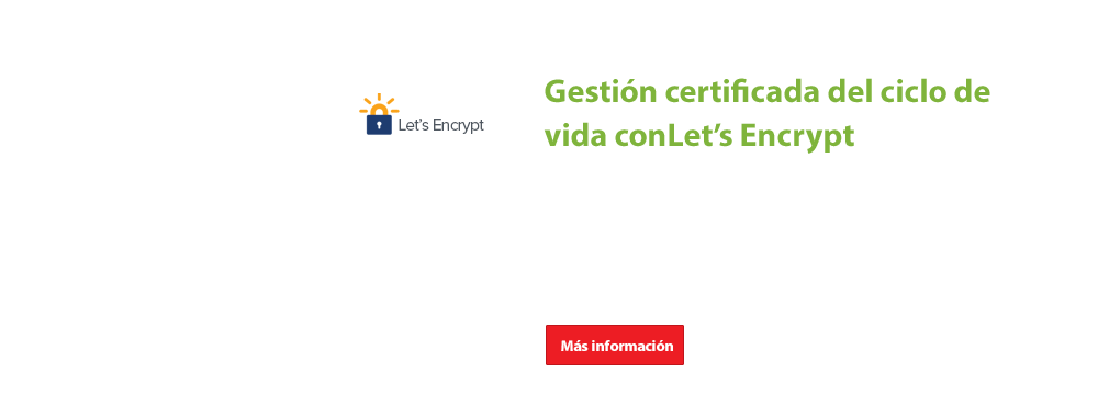 End-to-end certificate life cycle management with Let's Encrypt.