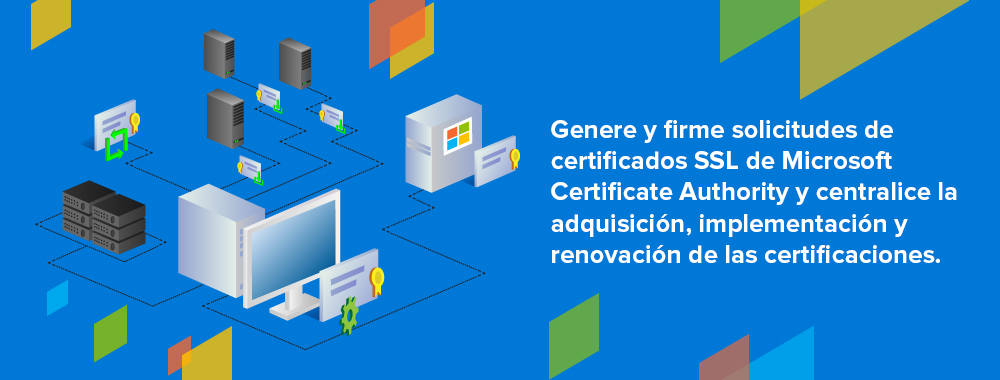 Key Manager Plus completely automates life cycle management for certificates issued by Microsoft Certificate Authority.
