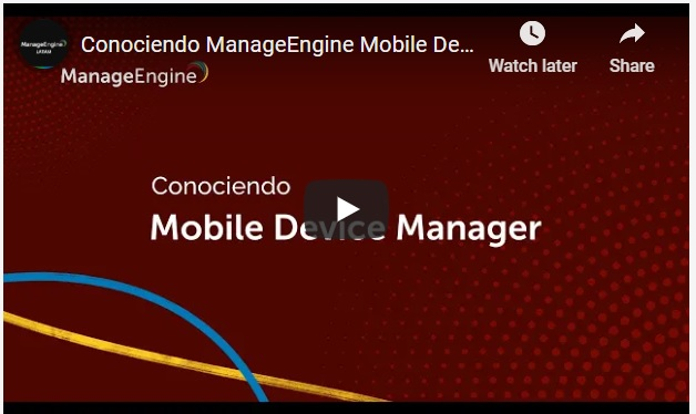 Conociendo ManageEngine ServiceDesk Plus