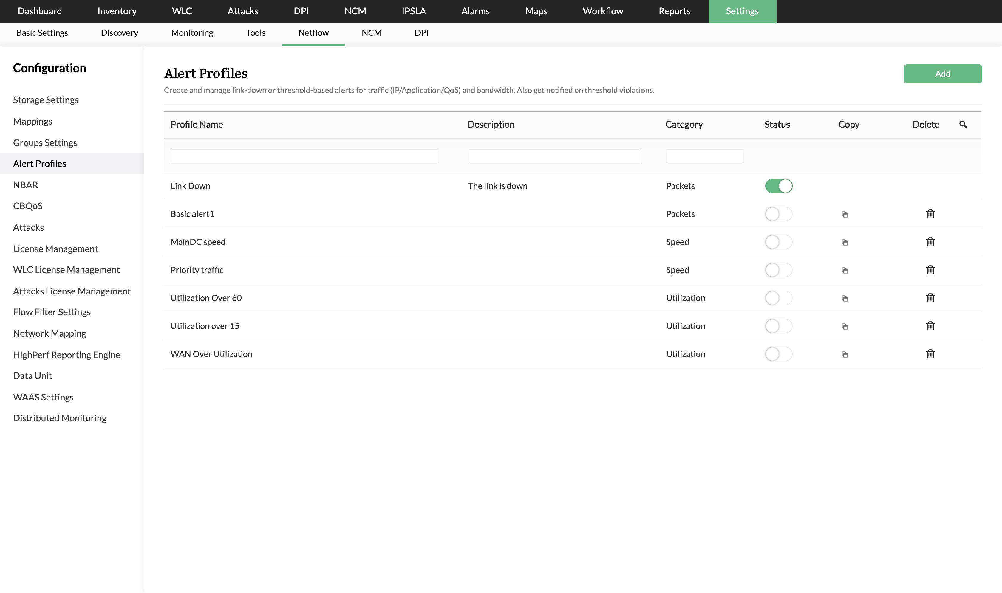 Bandwidth Monitoring Software - Bandwidth Usage Download - ManageEngine NetFlow Analyzer