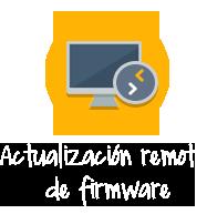 Actualización remota de firmware