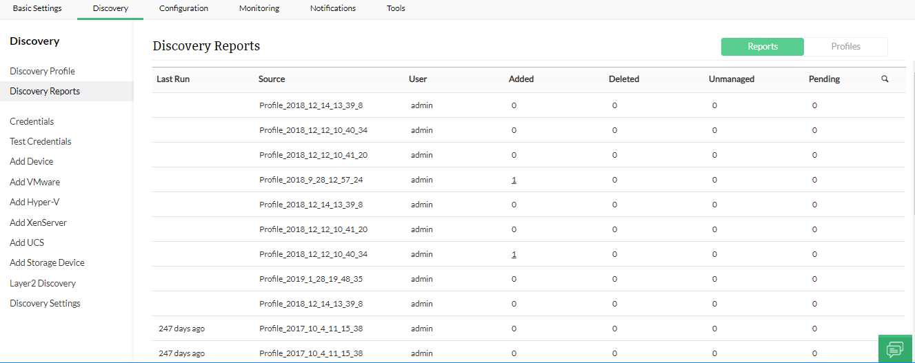 Free Network Discovery Tools - ManageEngine OpManager