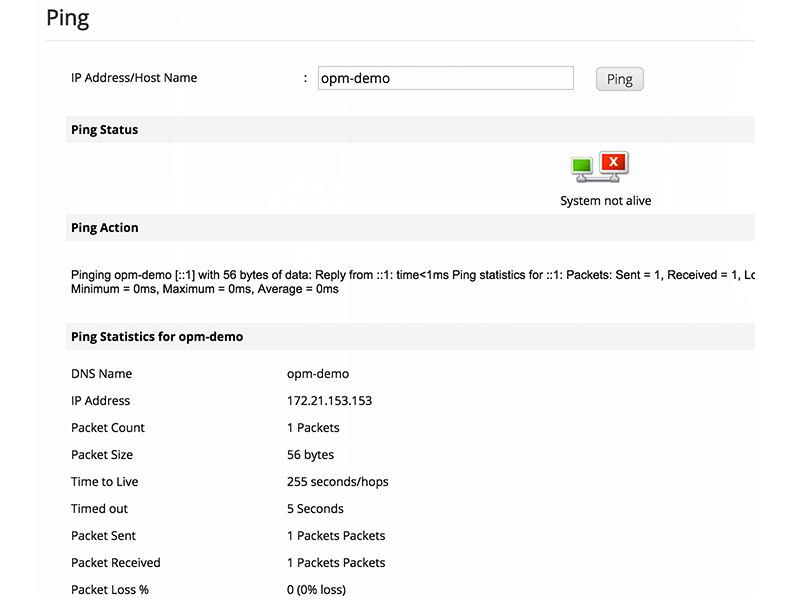 Cisco Network Tools - ManageEngine OpManager