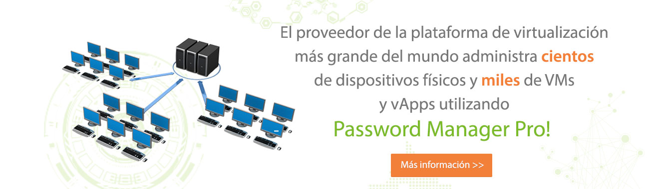 Password Manager Pro - Virtualization Platform