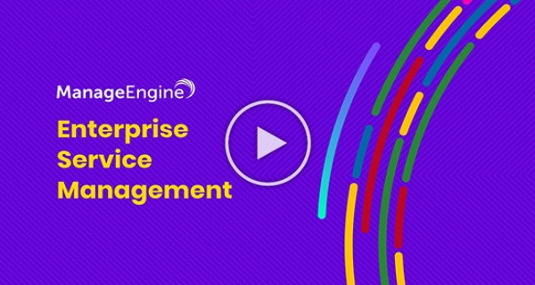 ManageEngine ServiceDesk Plus - Enterprise Service Management