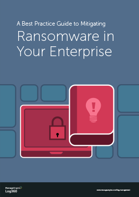 Ransomware prevention best practices