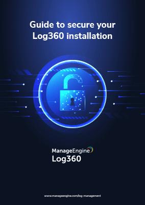 Log360 Installation - Best Practices
