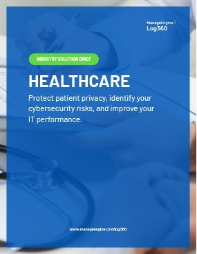 Protect Patient Privacy using Log360