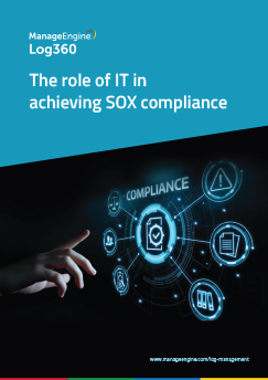 The role of IT in achieving SOX compliance