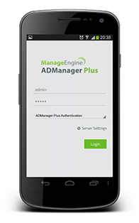 ADManager Plus Android App