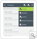 Habilitar cuentas de usuario AD desde 'dispositivos móviles'