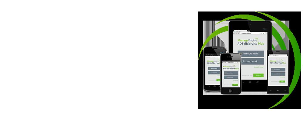Aplicación web ADSelfService Plus