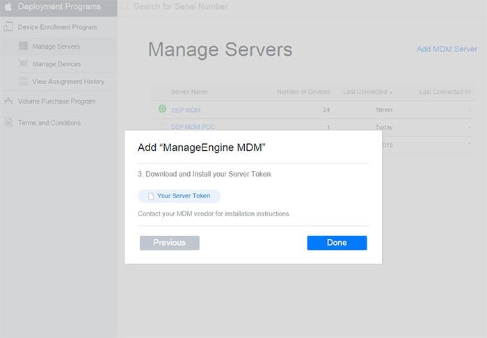 Download Public Key from Apple Deployment Program