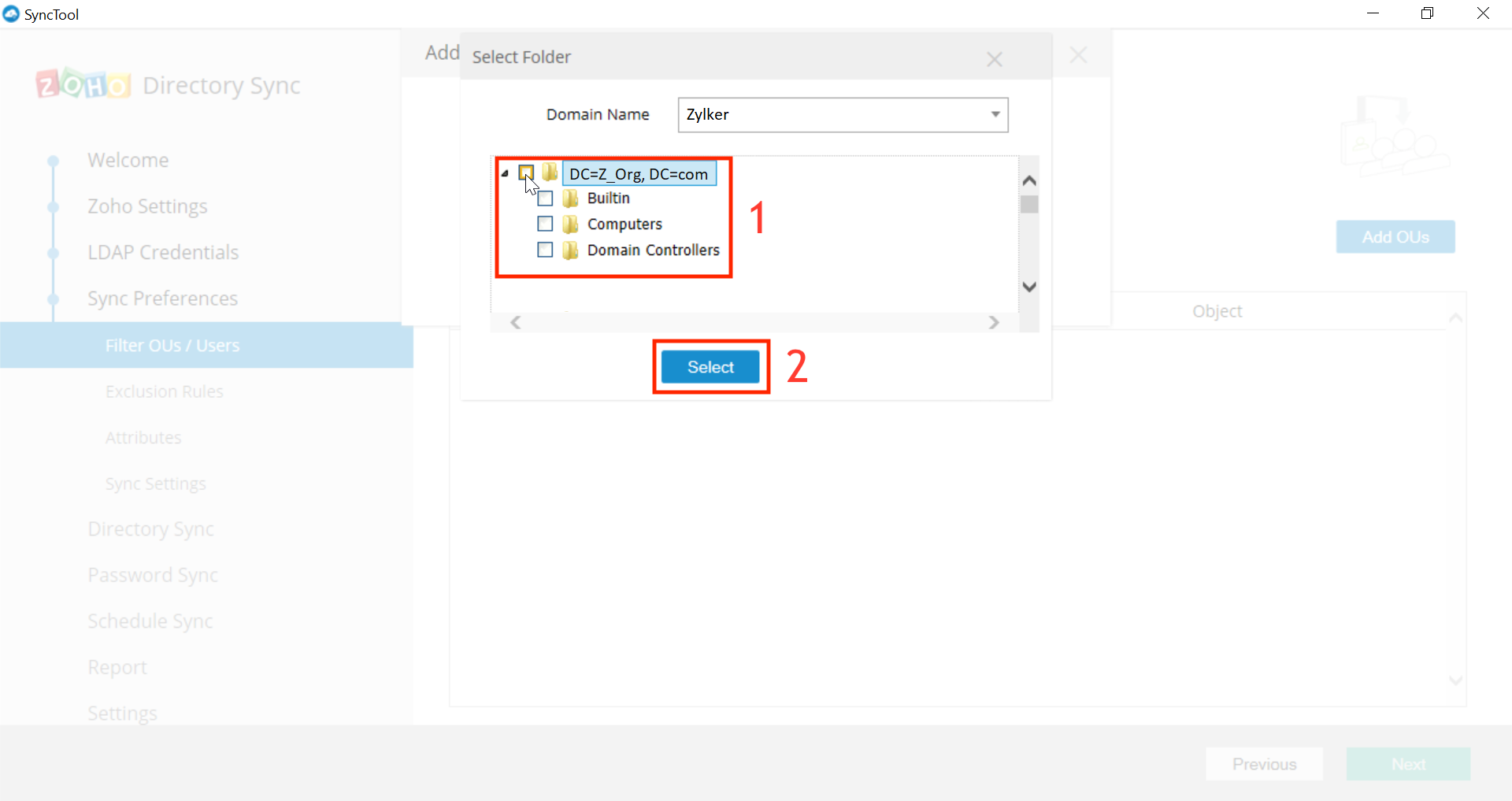 Microsoft Active Directory Integration Step 23