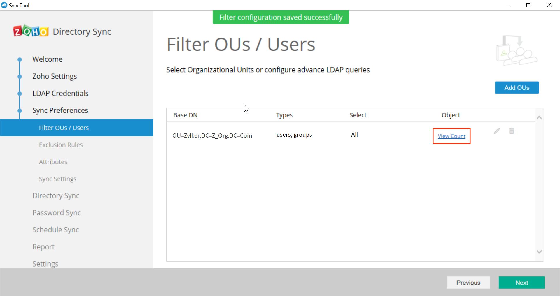 Microsoft Active Directory Integration Step 25