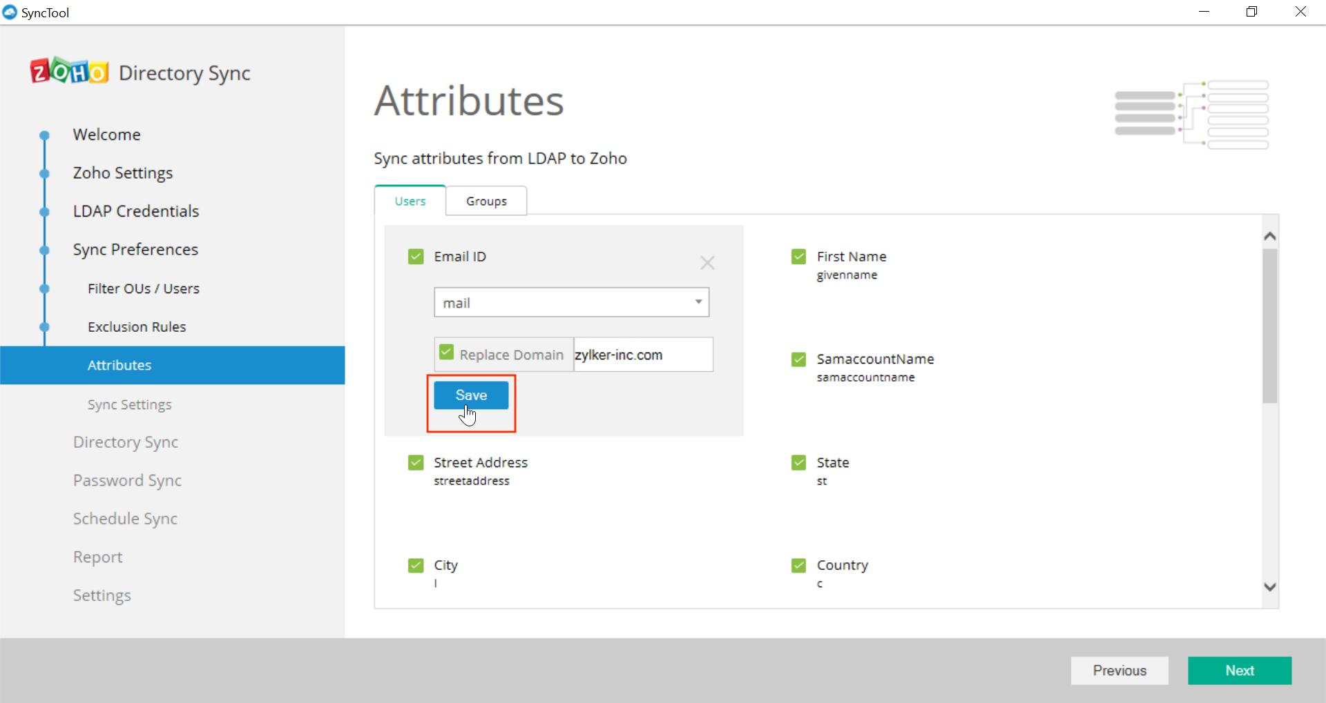Microsoft Active Directory Integration Step 29