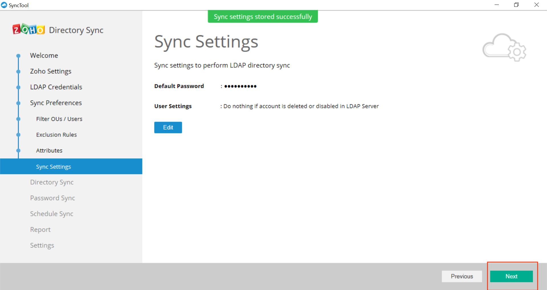 Microsoft Active Directory Integration Step 32