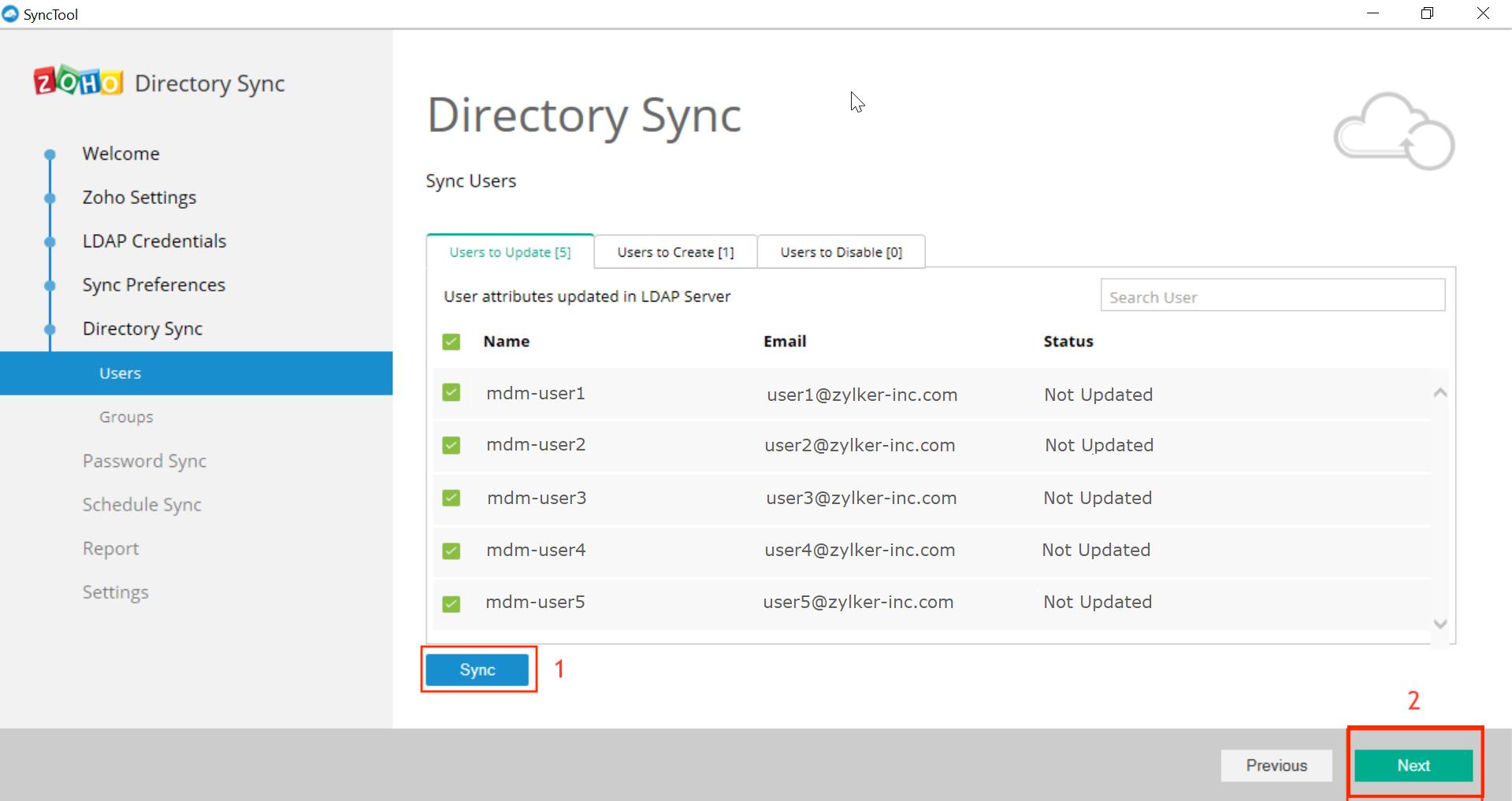 Microsoft Active Directory Integration Step 33