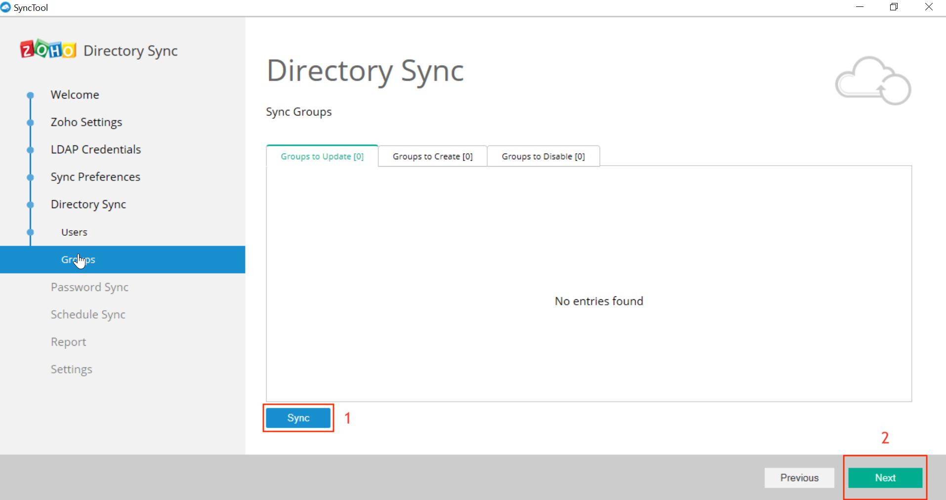 Microsoft Active Directory Integration Step 34