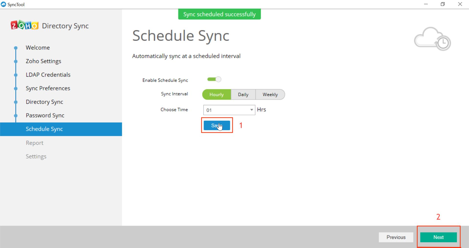 Microsoft Active Directory Integration Step 36