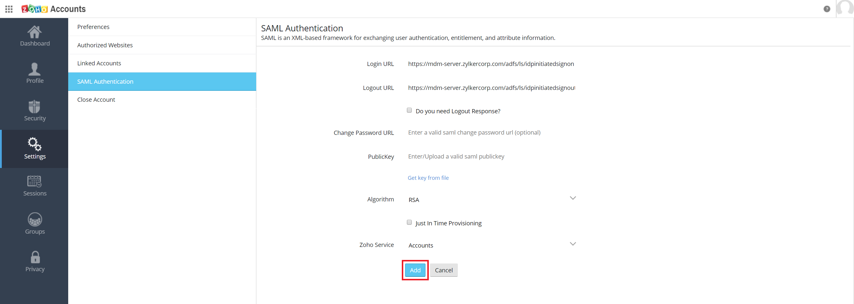 Microsoft Active Directory Integration Step 39
