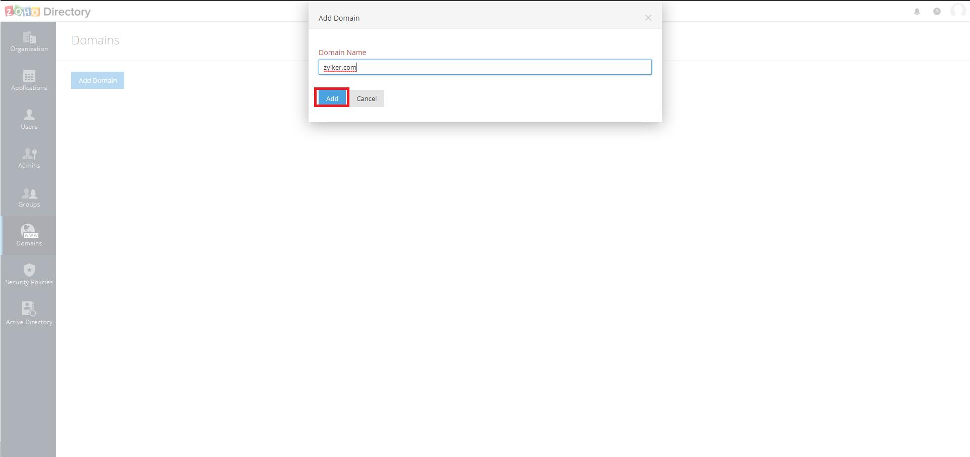 Microsoft Active Directory Integration Step 4