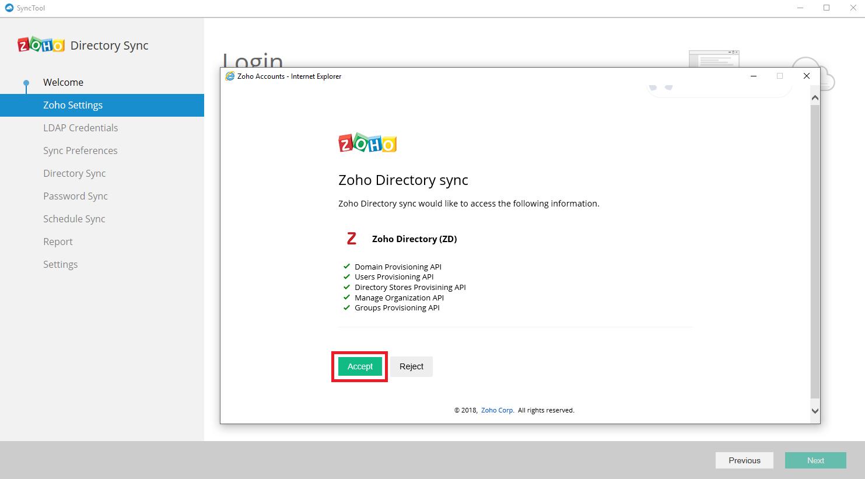 Microsoft Active Directory Integration Step 10