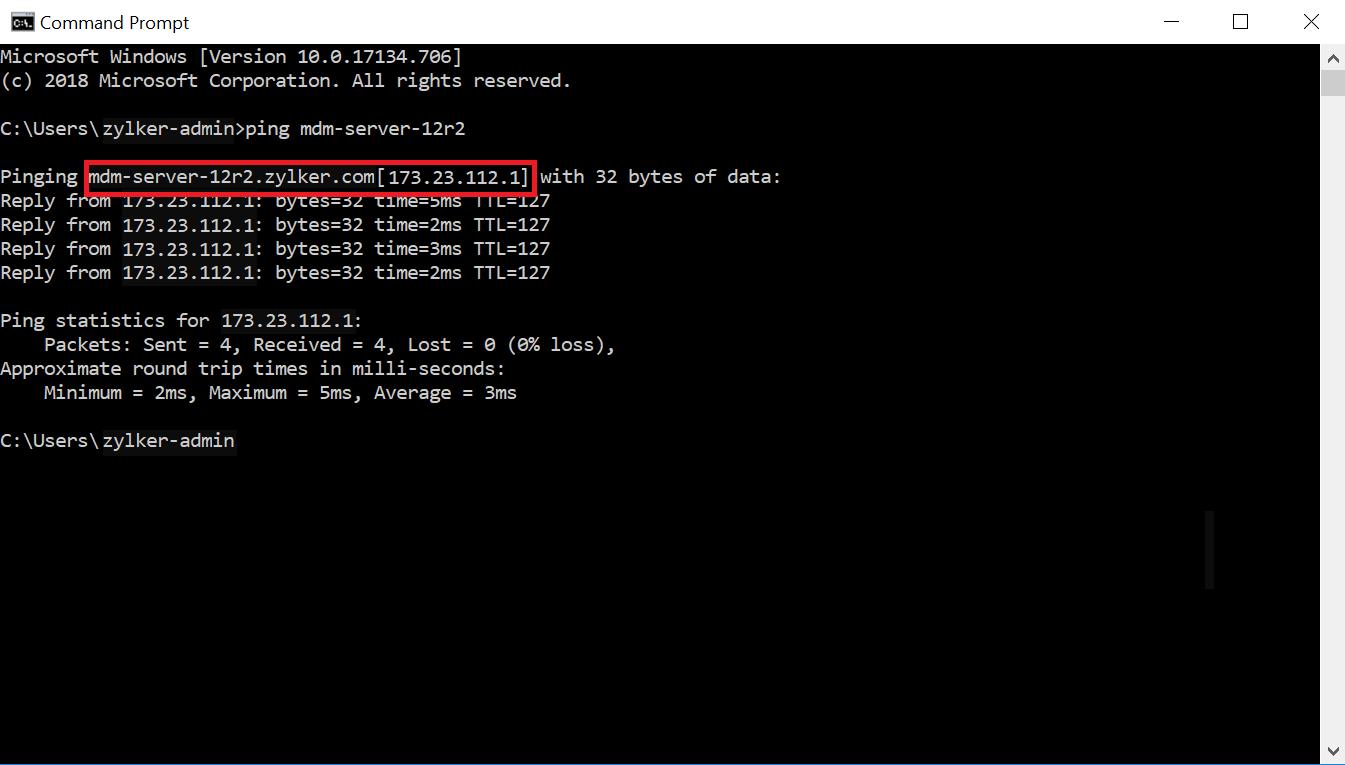 Microsoft Active Directory Integration Step 16