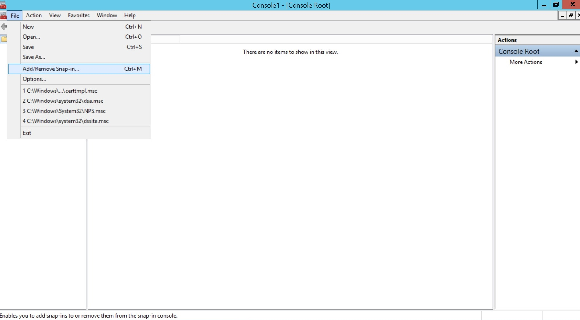 Configure SCEP for iOS Step 1