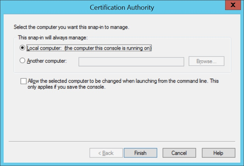 Configure SCEP for Windows Step 13