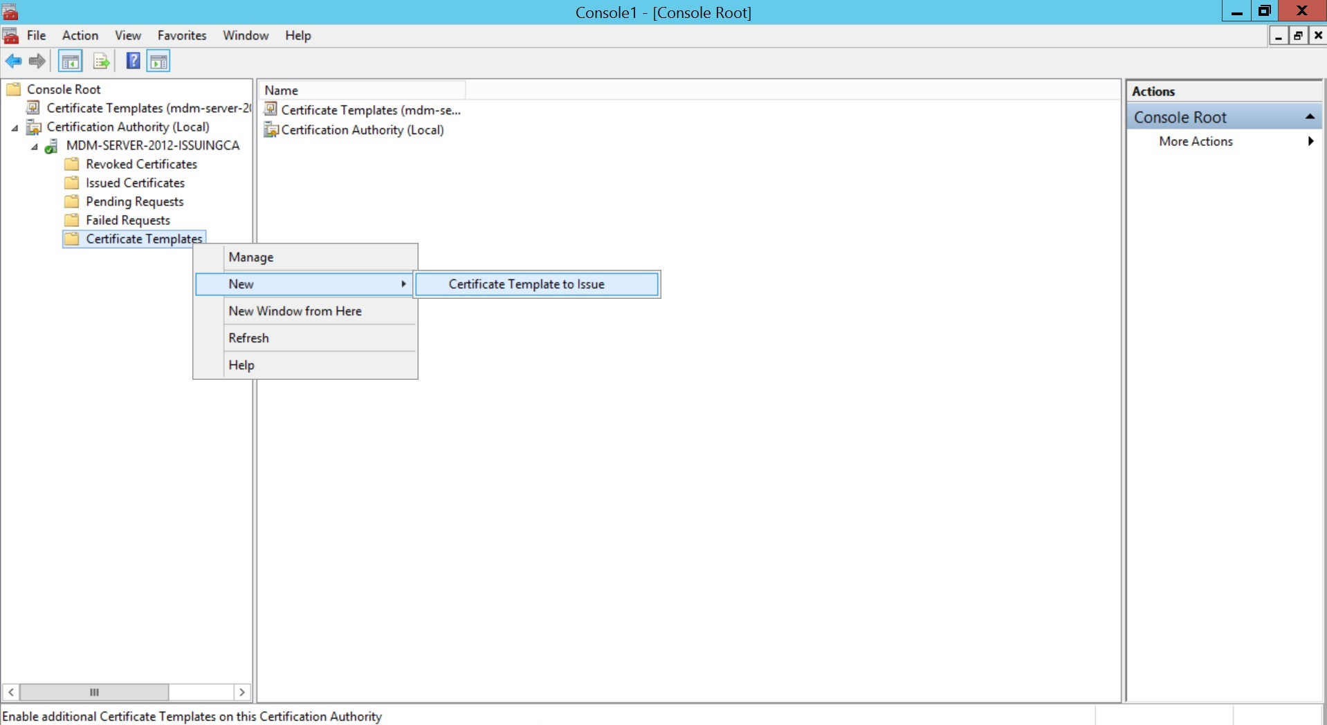 Configure SCEP for Windows Step 14