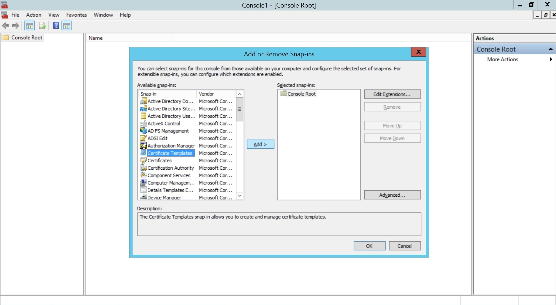 Configure SCEP for Windows Step 2