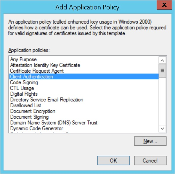 Configure SCEP for Windows Step 7