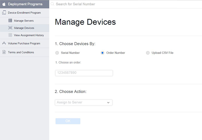 Add devices to Apple Device Enrollment Program