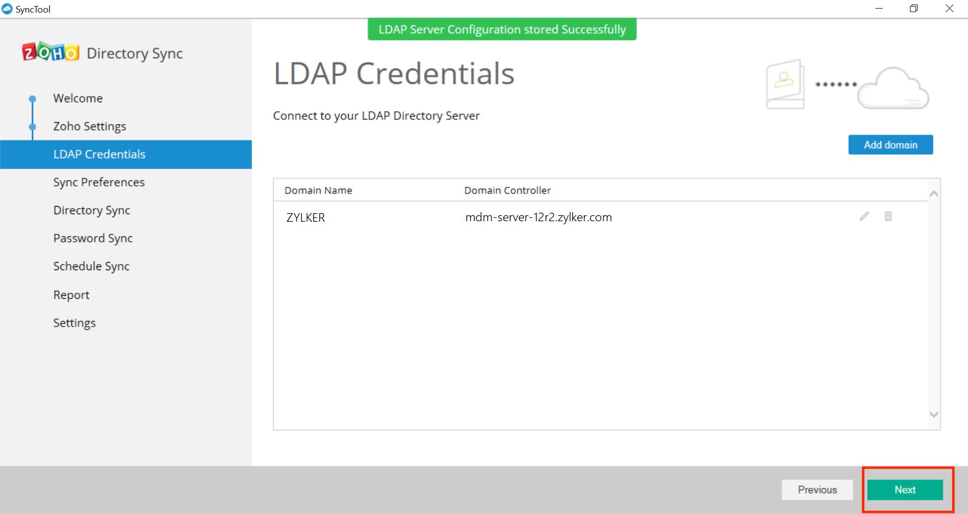 Integración con Microsoft Active Directory Paso 20
