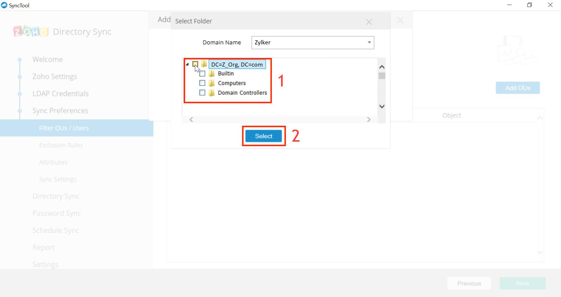 Integración con Microsoft Active Directory Paso 23