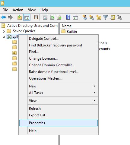 Microsoft Active Directory Integration Step 14