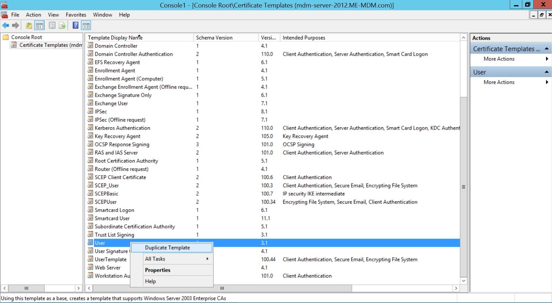 Configurar SCEP para Windows Paso 3