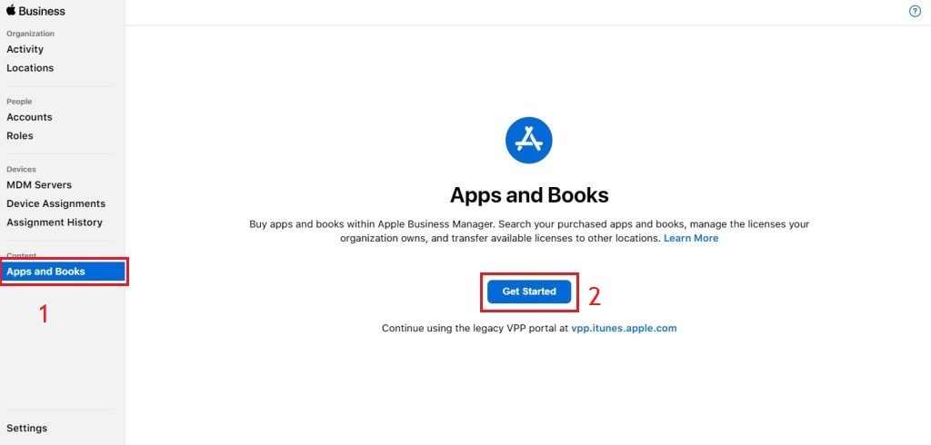 Migrate apps and books from Apple VPP