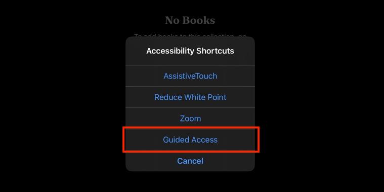Manually adding an app into iPad Kiosk Mode