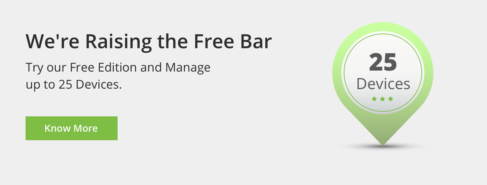 Now Manage your Mobile Devices for Free.