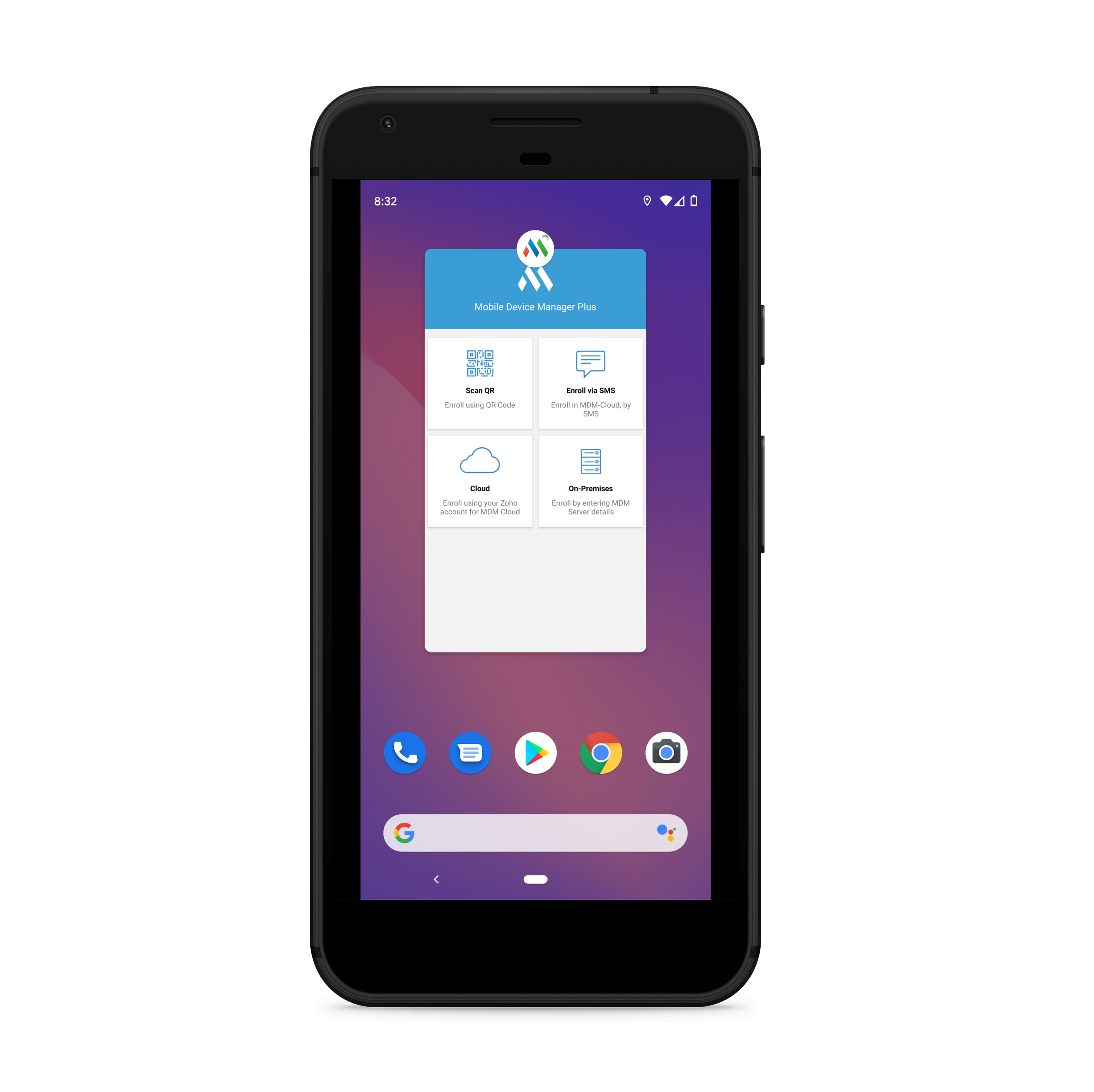 Selecting an app for Android Screen Pinning